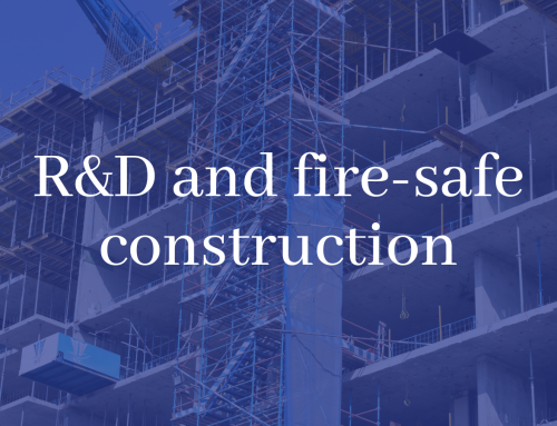 Exploring R&D and fire-safe construction