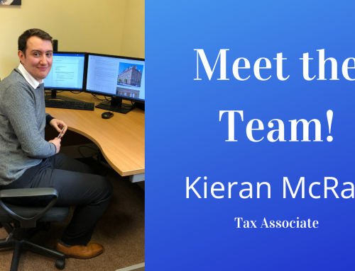 Meet The Team Kieran McRae Tax Associate